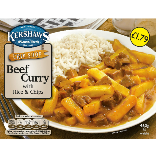 Kershaw's Beef Curry