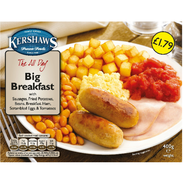 Kershaw's Big Breakfast