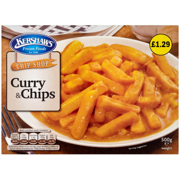 Kershaw's Curry and Chips