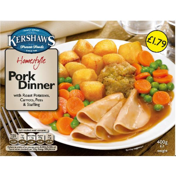 Kershaw's Pork Dinner