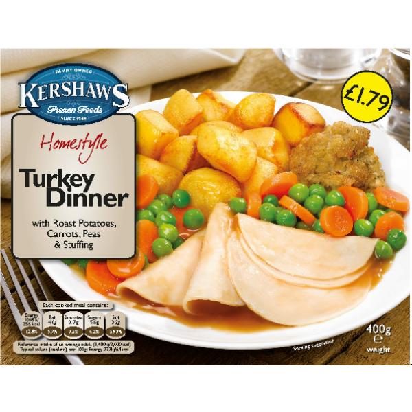 Kershaw's Turkey Dinner