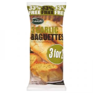 Land's Garlic Bagettes