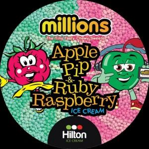 Millions Apple Pip & Ruby Rasberry