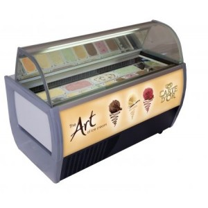 Rumba 13 Carte D'Or Branded Ice Cream Scooping Freezer