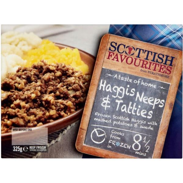 Scottish Favorites Haggis Neeps & Tatties
