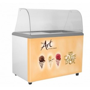 SP9 Carte D'Or branded ice cream scooping freezer