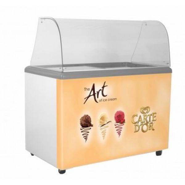 SP9 Carte D'Or branded ice cream scooping freezer